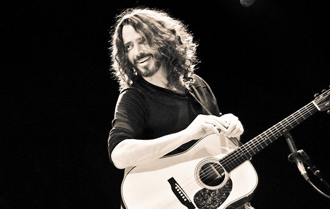 Chris Cornell - photo by Deena Cavallo